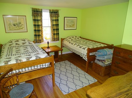 Eastham Cape Cod vacation rental - Main house, twin bedroom on first floor