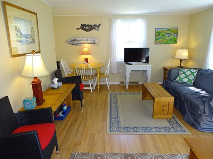 Eastham Cape Cod vacation rental - Cottage living room with flat screen TV