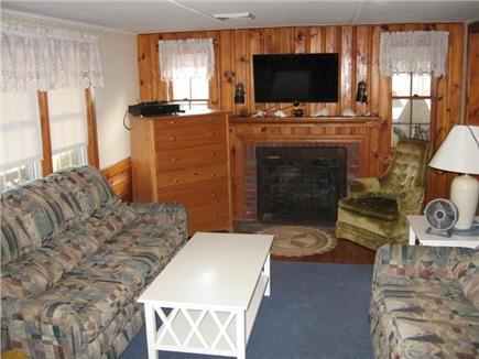 West Dennis Cape Cod vacation rental - Livingroom