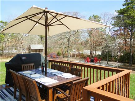 Harwich Cape Cod vacation rental - Deck with grill – great for afternoon gatherings