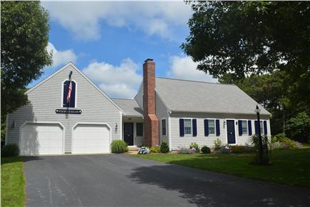Harwich Cape Cod vacation rental - House sits back on one acre lot