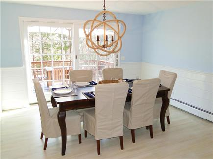 Harwich Cape Cod vacation rental - Lovely dining room with slider to deck