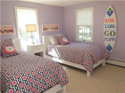 Harwich Cape Cod vacation rental - Main floor colorful twin bedroom