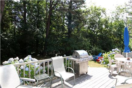 East Orleans Cape Cod vacation rental - Deck Area