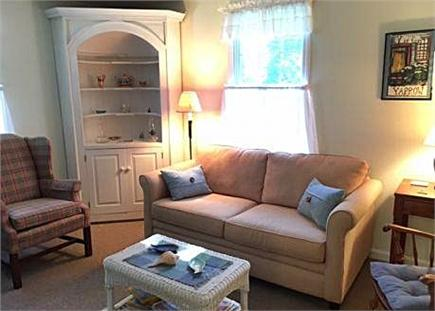 East Orleans Cape Cod vacation rental - Den with TV