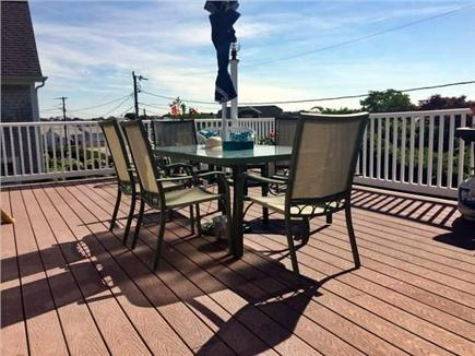 Hyannis Cape Cod vacation rental - Outdoor Deck Dining