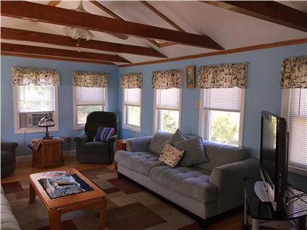 Hyannis Cape Cod vacation rental - Sun Room with Cable TV
