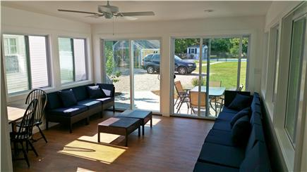 Harwichport Cape Cod vacation rental - Sun room