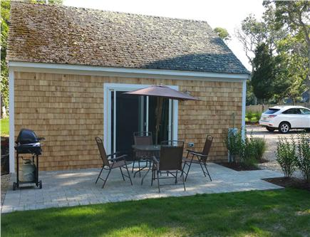 Harwichport Cape Cod vacation rental - One of 2 walk-out patios