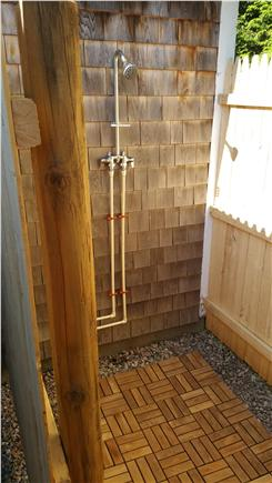 Harwichport Cape Cod vacation rental - One of 2 outdoor showers