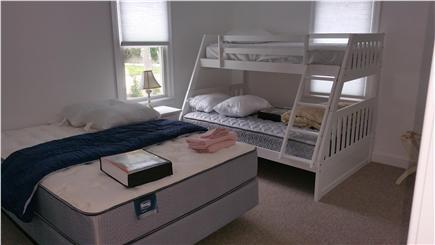 Harwichport Cape Cod vacation rental - First floor bedroom with Queen, Full and Twin