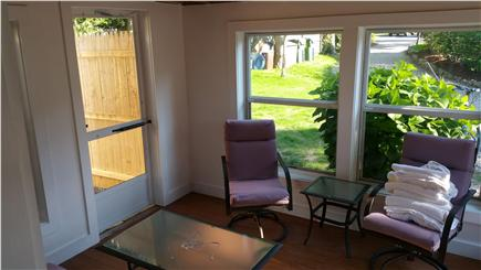 Harwichport Cape Cod vacation rental - Relax in the sun den