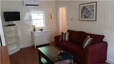 Harwichport Cape Cod vacation rental - Living room in 1 bedroom cottage