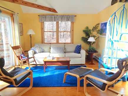 Wellfleet Cape Cod vacation rental - Bright & Cheerful Living Room