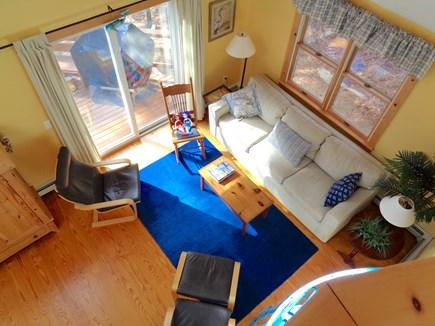 Wellfleet Cape Cod vacation rental - Ariel View of Living Room