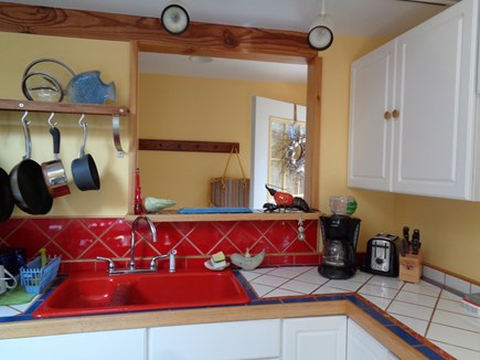 Wellfleet Cape Cod vacation rental - So Much Wonderful Tile In this Home