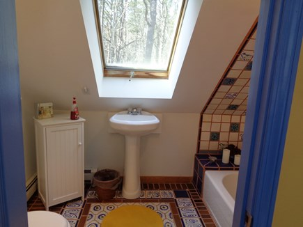 Wellfleet Cape Cod vacation rental - Bathroom upstairs