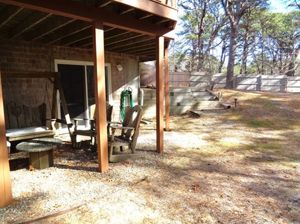 Wellfleet Cape Cod vacation rental - Shaded Area To Sit Outside Of Lower Level