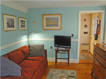 Chatham Cape Cod vacation rental - First floor TV room with flatscreen