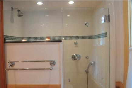 Truro Cape Cod vacation rental - Elegant all new tile and glass shower
