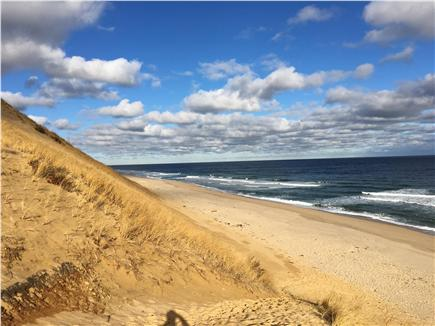 Truro Cape Cod vacation rental - Longnook Beach North view is just 1 mile, easy walking or biking.