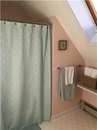 East Falmouth Cape Cod vacation rental - Main Guest Bathroom with Tub/Shower