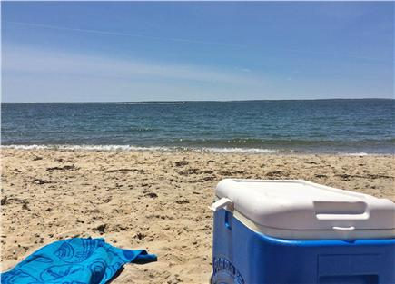 East Falmouth Cape Cod vacation rental - Menauhant Beach is under a mile away!