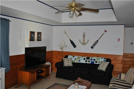 Eastham Cape Cod vacation rental - Combo dining/living area with flat screen TV