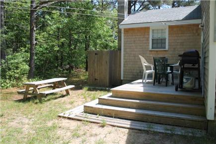 Eastham Cape Cod vacation rental - Deck, picnic table, gas grill
