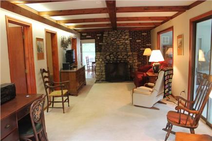 Eastham Cape Cod vacation rental - Large living room