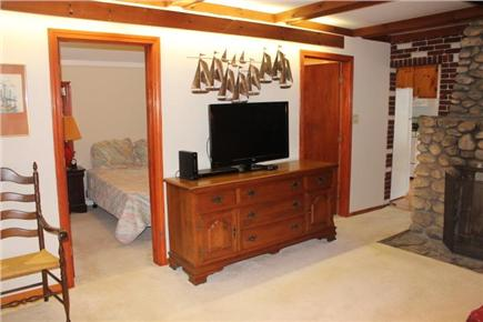 Eastham Cape Cod vacation rental - Flat screen TV with blu ray DVD
