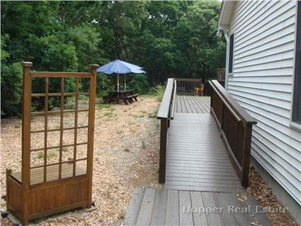 Eastham Cape Cod vacation rental - Wheelchair accessibility to house and deck