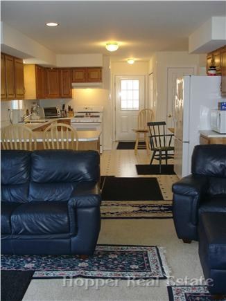 Eastham Cape Cod vacation rental - Kitchen open to sitting area