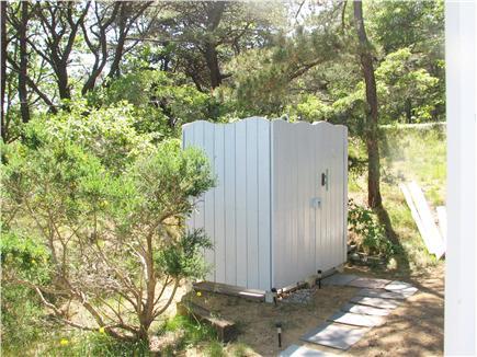 Wellfleet, Lt Island Cape Cod vacation rental - Outdoor shower