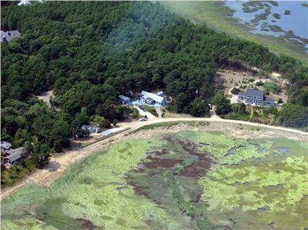 Wellfleet, Lt Island Cape Cod vacation rental - Aerial View