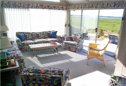 Wellfleet, Lt Island Cape Cod vacation rental - View from living room