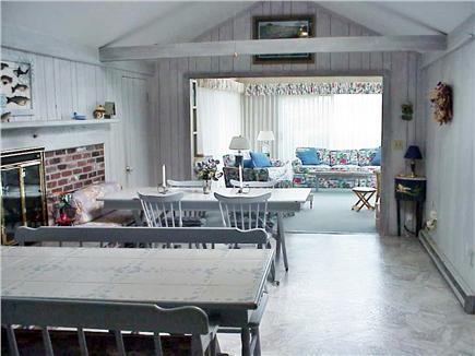 Wellfleet, Lt Island Cape Cod vacation rental - Open living/dining area
