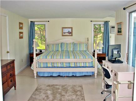 Wellfleet, Lt Island Cape Cod vacation rental - Master bedroom with king