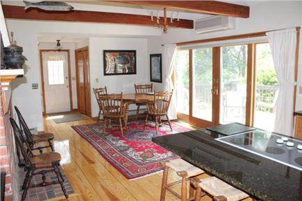 Eastham Cape Cod vacation rental - Combo kitchen / dining area