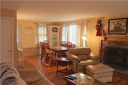 Eastham Cape Cod vacation rental - Combo sitting room / dining area