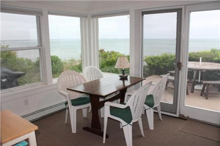 Eastham Cape Cod vacation rental - Porch and dining area