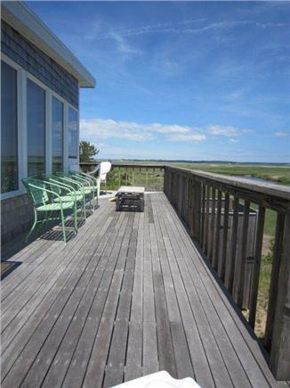 Eastham Cape Cod vacation rental - Wrap around deck