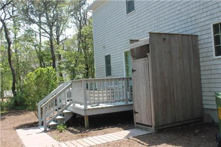 Eastham Cape Cod vacation rental - Outdoor shower and deck
