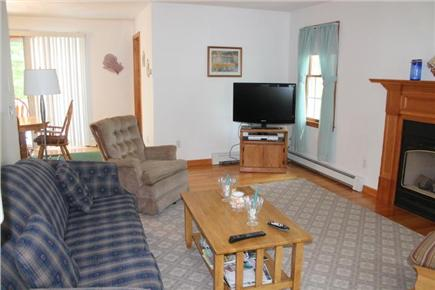Eastham Cape Cod vacation rental - Open living room with flat screen TV