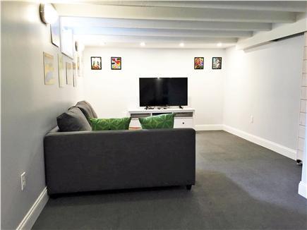 Provincetown Cape Cod vacation rental - A bonus garden level media room completes the unit!