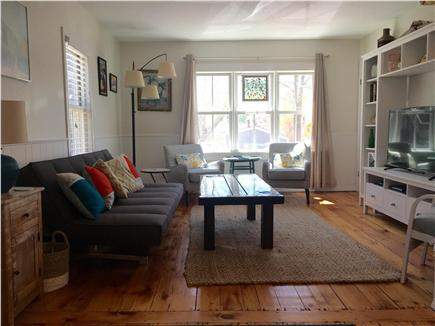 Provincetown Cape Cod vacation rental - Stretch out and relax in our comfortable living room.