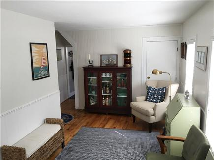 Provincetown Cape Cod vacation rental - Additional office space extends the living area.