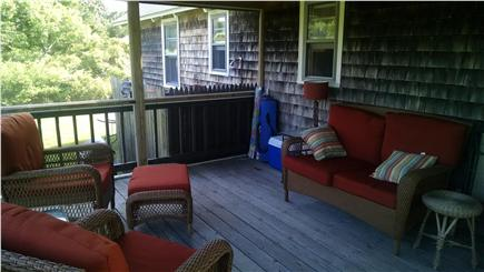 Sandwich Cape Cod vacation rental - Enjoy the nights or get out of the sun but enjoy being outside.