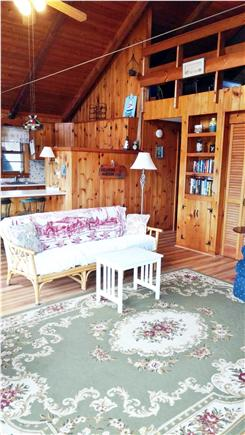 Sandwich Cape Cod vacation rental - What a way to relax at night.