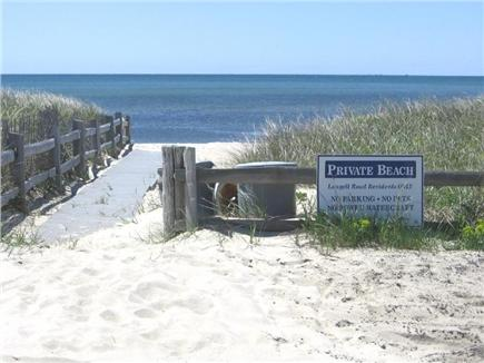 Dennis Port Cape Cod vacation rental - Private Association Beach just a couple of houses away